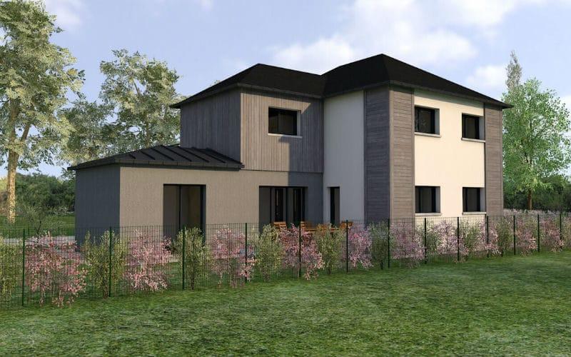 Projet de construction de maison design - damien