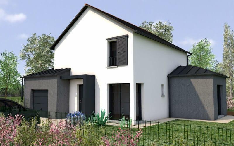 projet de maison Faisne - vue 2