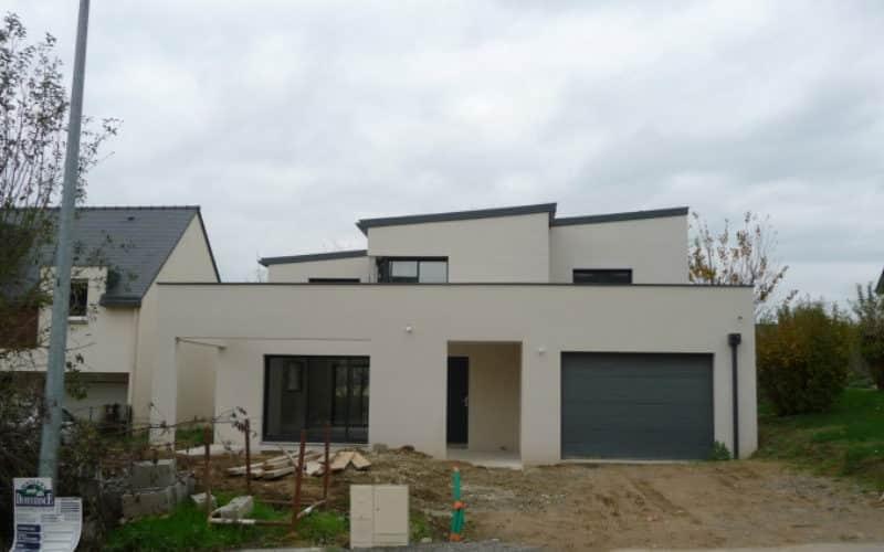 Construction de maison moderne sur Vern-sur-seiche