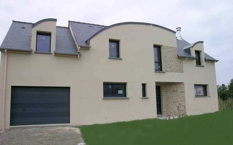 Maison contemporaine a St coulomb