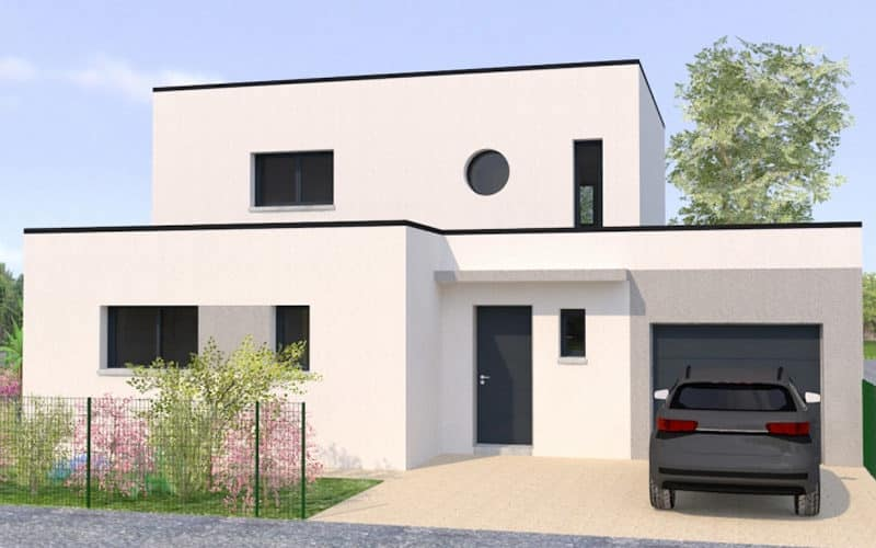 Maison Contemporaine Toit Plat