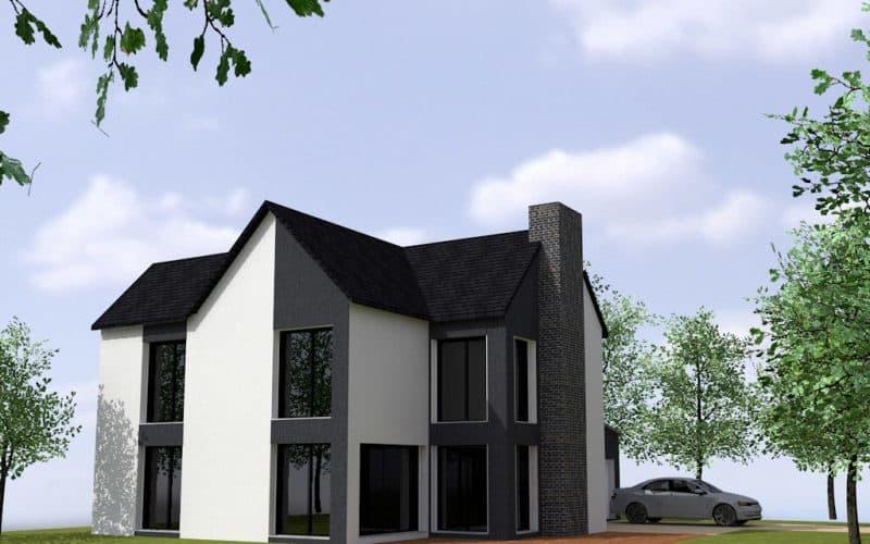Maison avec architecture design