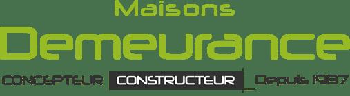 Maisons demeurance construction et conception logo