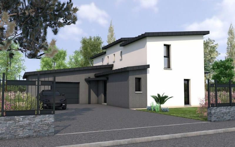 Projet de maison - Papail vue 2