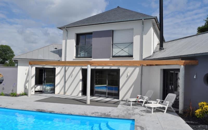 Maison prestige avec piscine