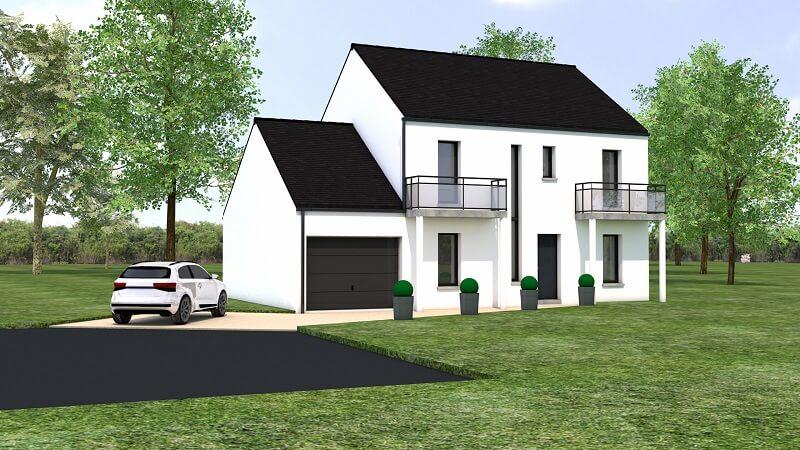 projet maison traditionnelle et moderne