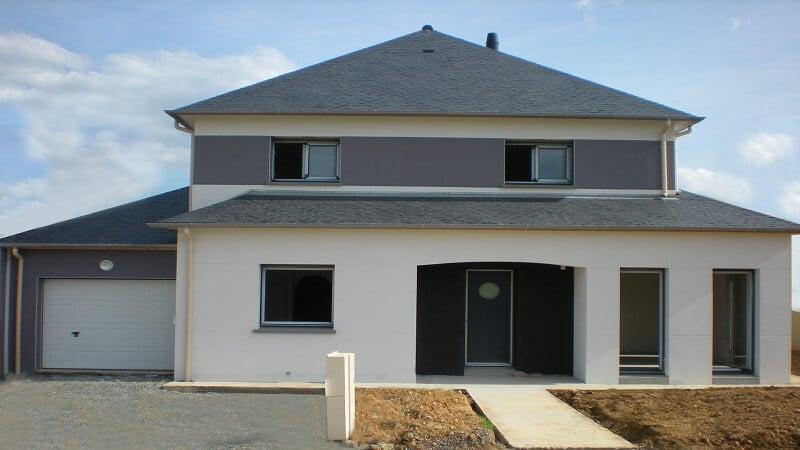 construction maison 4 pans loire atlantique orvault deux