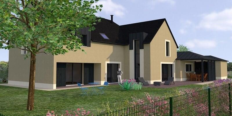 Projet de maison contemporaine à Saint briac sur mer (2)