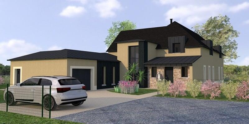 Projet de maison contemporaine à Saint briac sur mer