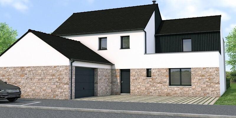 Projet Maison contemporaine à Rotheneuf - Saint Malo