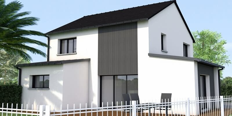 Projet de maison contemporaine à Saint lunaire
