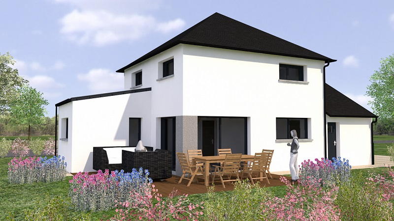 Programme Terrain + Maison Henansal