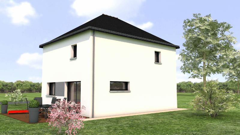 Maison contemporaine avec 3 chambres
