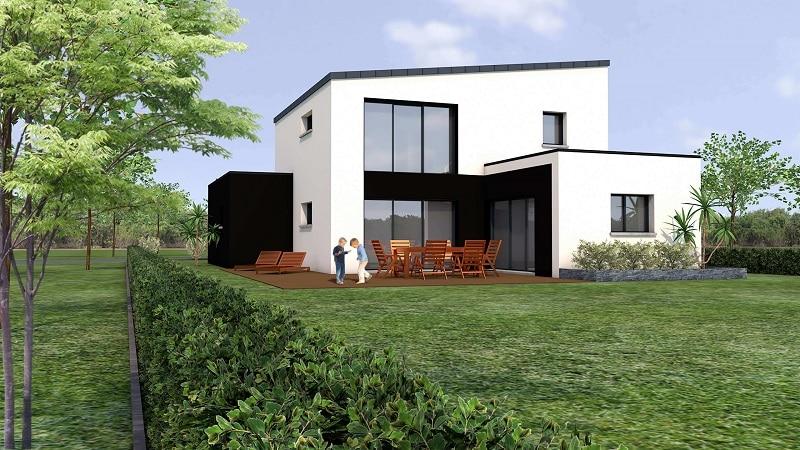 Maison Moderne Monopente