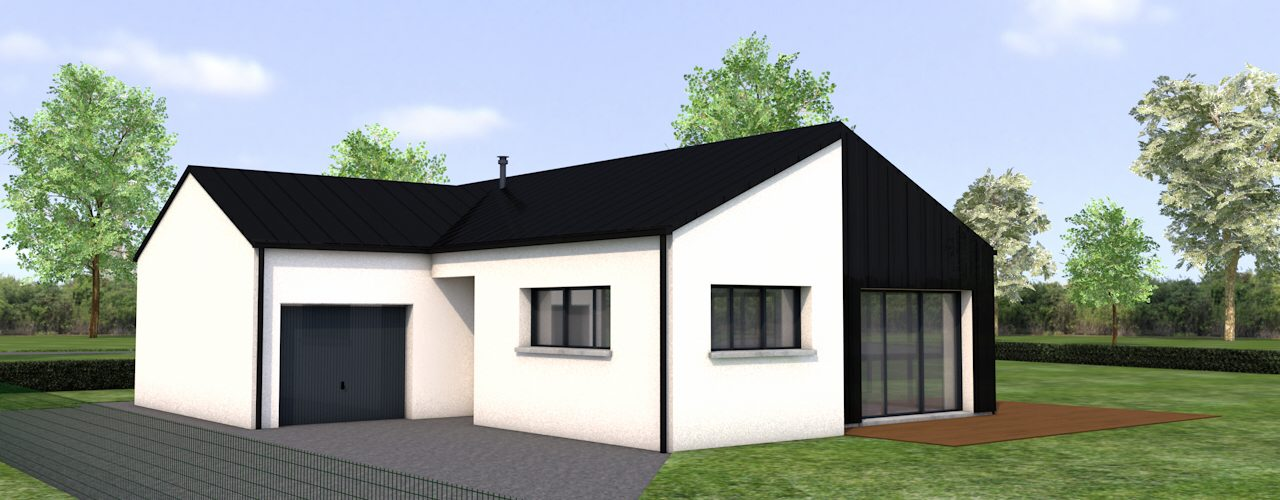 Programme Terrain + Maison Plouagat