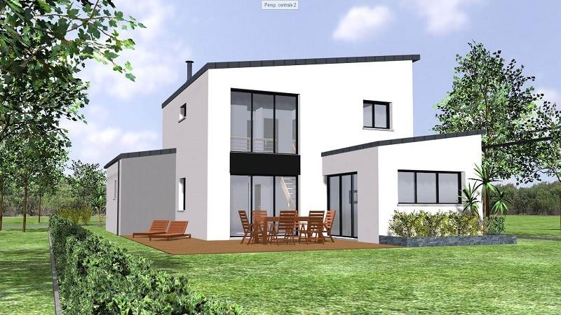 Projet de Maison moderne avec étage en loire atlantique