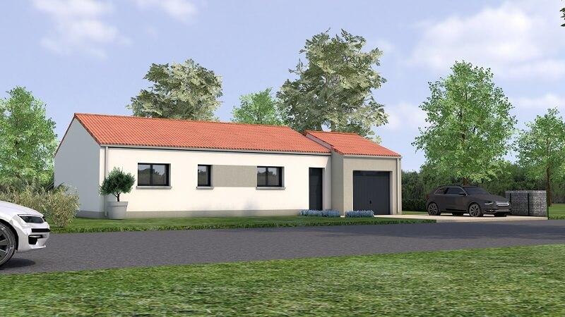 Maison traditionnelle avec toit en tuile loire atlantique vue 4