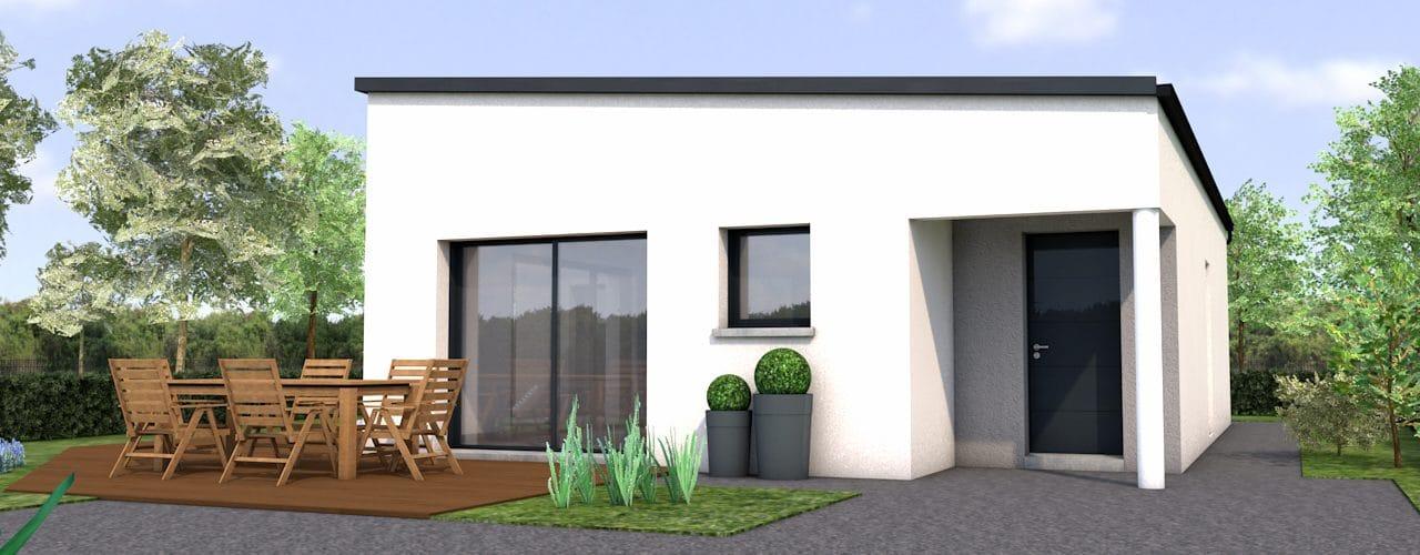 Programme Terrain + Maison Lannion