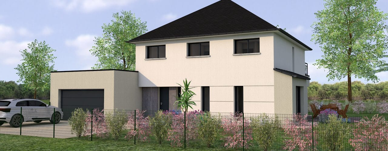 Programme Terrain + Maison Becherel