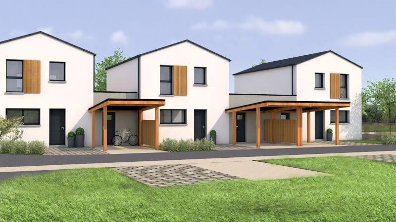 Projet lot de 12 construction de maison